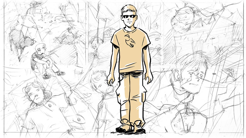 ADventure Pastura comic book NitroNerd (Piero Zilio) by Massimo Dall'Oglio & Laura Congiu